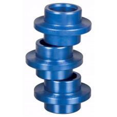 Rulluisu rattapuksid Powerslide Alu (608) 8mm Blue 8 tk
