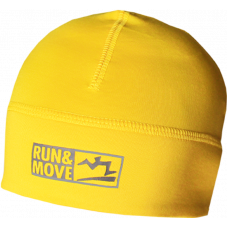 Spordimüts Run en Move kollane