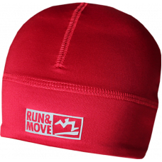 Spordimüts Run en Move punane