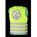 Helkurvest lastele Wowow Grazy Monster Jacket roheline
