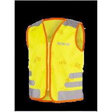 Helkurvest lastele Wowow Nutty Jacket kollane