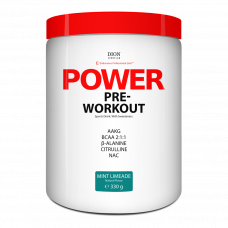 Spordijook Dion POWER Pre-Workout Münt-Laim 330 g