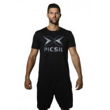 PicSil treening T-särk Black Logo
