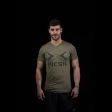 PicSil treening T-särk Green Logo