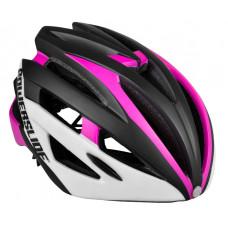 Jalgratta kiiver lastele Powerslide Attack roosa