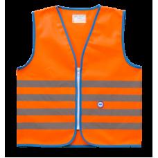Helkurvest lastele Wowow Fun Jacket oranz