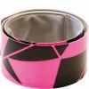 Iserulluv WOWOW helkurriba Snap Wrap Urban roosa
